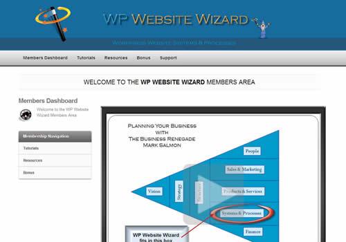 WP website Wizard 500 x 350